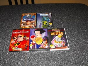 DVD Walt Disney bandes sonores Francais/Anglais