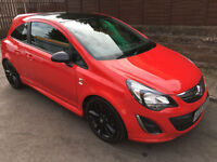 2013 (13) Vauxhall Corsa 1.2i 16v Limited Edition ( a/c ) Red 3Dr