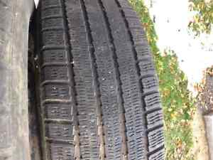 Michelin Arctic Alphin Winter Tires P195/65R 15 with rims