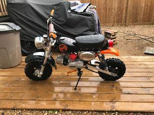 Custom Monkey Bike