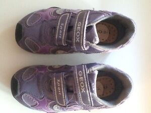 Geox girls size 10 running shoes