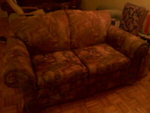 Loveseat (2 seat couch) or 3 seat couch or both for $80