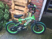 Boys 12inch Raleigh gi joe bike