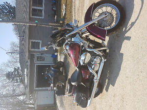 For Sale 2007 750 Honda Shadow Areo Mint Condition