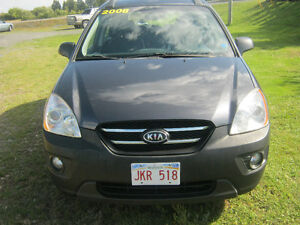 2008 Kia Rondo Black Leather SUV, Crossover
