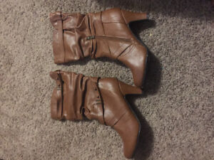 Le Chateau women's boots for just $20.