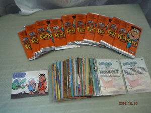 MIX LOT OF 166 THE FLINTSTONES 1994 TRADING CARDS