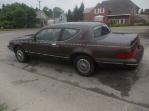 1988 Mercury Cougar Coupe (2 door)