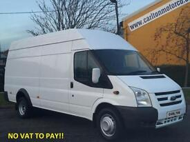 2012/ 62 Ford Transit 115 T350EL Jumbo High Roof Van # NO VAT TO PAY # DRW