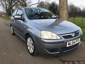 2004 Vauxhall Corsa 1.2i 16v SXi FSH LOW MILEAGE LONG MOT