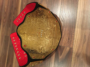 WWE adult size official replica title belt