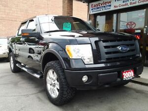 2009 Ford F-150 SuperCrew FX4,NO ACCIDENT,XLT,4X4,LEATHER.$11900