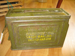 Ammo Box - FROM PAST TIMES Antiques & Coll - 1178 Albert St