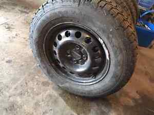 14inch Firestone Studded Winter tires