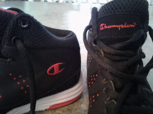 Youth CHAMPION hightop sneakers size 12