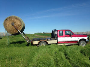 1996 Ford F-250 With HydraDec Bale Picker