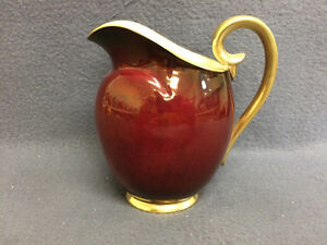 16 Oz Pitcher in Rouge Royale by Carlton Ware