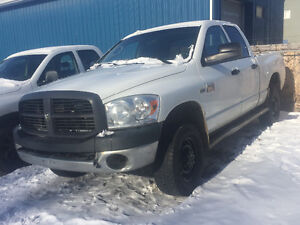2007 DODGE RAM 2500 HEAVY DUTY 4x4 = 5.7 HEMI = WELL MAINTAINED