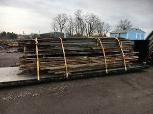 """another load of grey barn board and wide 2"""" threshing boards"""