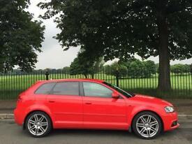 2009 09 AUDI A3 2.0 SPORTBACK TFSI S LINE SPECIAL EDITION 5D 197 BHP