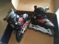 Roller skating (kids) shoes (adjustable to sizes 1 to 4) $35