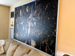 Huge New York City Canvas in Stretch Frame