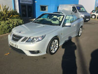 Saab 9-3 2.8 V6 ( 255ps ) auto 2008MY Aero Silver FANTASTIC Condition !!