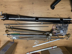 Assorted Curtain Rods For Sale