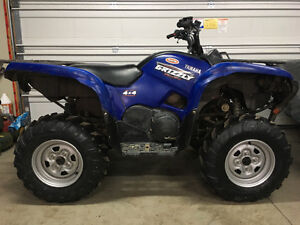 2008 Yamaha Grizzly 700 efi, 4x4, power steering, auto high/low