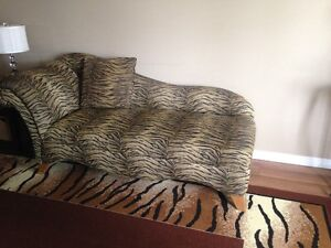 Animal Print Chaise Lounge London Ontario image 1