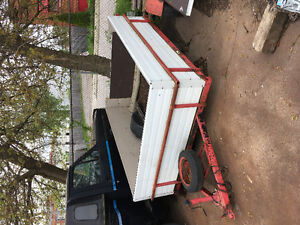 7 utility trailers for sale  handyman special