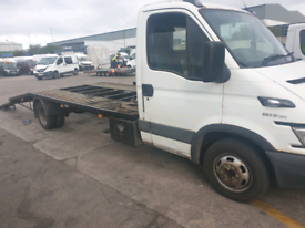 IVECO DAILY 50C17 recovery truck