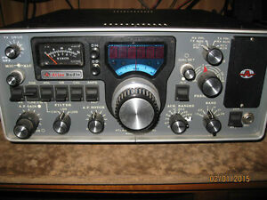 RARE  VINTAGE ANTIQUE HAM RADIO CB RADIO MICS & MORE