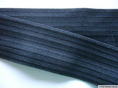 10m Gummiband 0,35€/m schwarz 27mm breit MB111