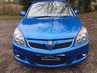 Vauxhall/ Vectra VXR Turbo 2.8i V6 24v 2008 / Arden Blue / Sat Nav / Recaros