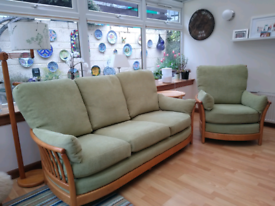 Ercol Renaissance sofa and chair.
