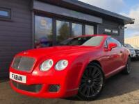 2009 Bentley Continental 6.0 W12 ( 600bhp ) Auto GT Speed *ST JAMES RED - FBSH*