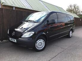 Mercedes-Benz VITO Traveliner 111 CDI XLONG...ONLY 61,000miles...FSH...8 Seat..