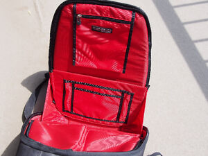 Hard shell motorcycle laptop backpack