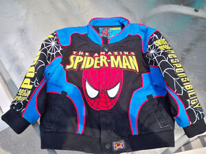 SPIDERMAN COAT SUEDE SIZE 3T