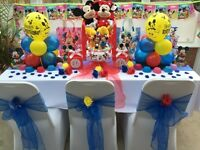 Mickey & Minnie Cake Table - Princess Birthday Party- Bouncy Castle & Soft Play Hire