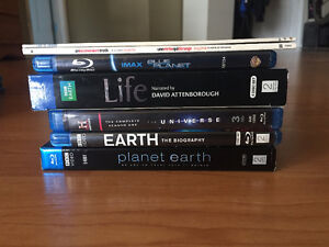 Blu-Ray Collection (Earth & Universe)