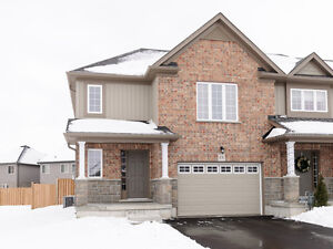 New end unit town home for sale in Beautiful town of Stratford!!