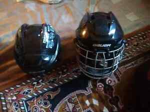 2 Bauer Hockey hemets brand new condition Kingston Kingston Area image 1