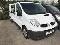 RENAULT TRAFIC LL29 DCI S-R W-V, White, Manual, Diesel, 2011