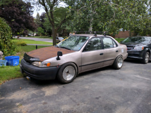 "Rat Rod 1999 Toyota Corolla ""Corolls Royce"" **NEED GONE**"