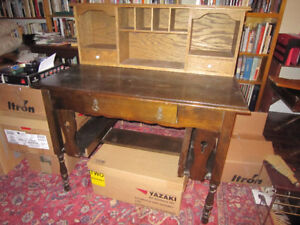 Antique Desk Library Table