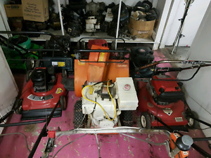 Small engines for sale.