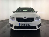 2015 SKODA OCTAVIA VRS TDI DIESEL ESTATE 1 OWNER FROM NEW FINANCE PX