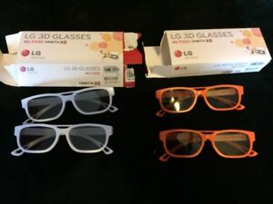 LG 3D Glasses AG-F200